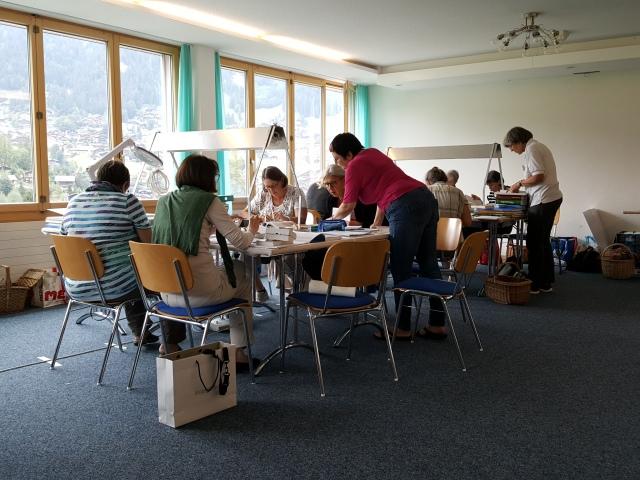 Pilzbestimmungen in Gruppen